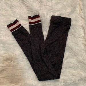 Garage Grey Sock Monkey Leggings
